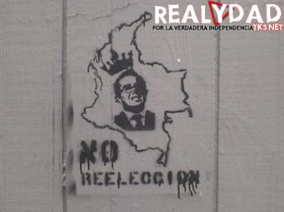 Grafiti ubicado en la calle 42 con carrera 7 en Bogotá
