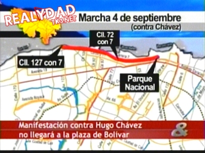 Marcha contra Chávez
