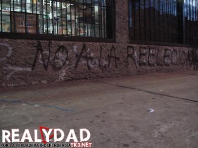 Grafiti ubicado en la carrera 7 con calle 51 en Bogotá.
