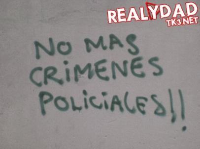 Grafiti ubicado en la carrera 7 con calle 46 en Bogotá.